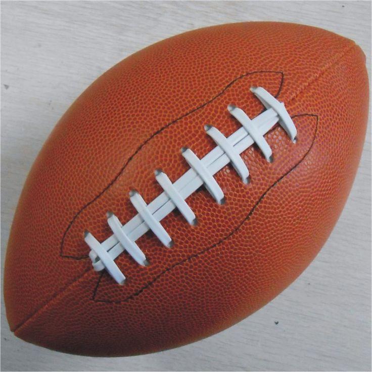 Instock Deporte Al Aire Libre Pelota de Rugby Pelotas De Fútbol Americano de LA PU Tamaño 9 Para Los Adolescentes de la Universidad de Entrenamiento Y Partido