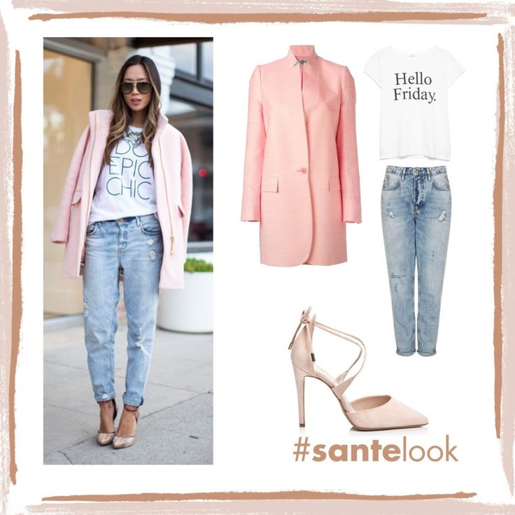 Perfect outfit idea that can go almost anywhere! #SanteLook