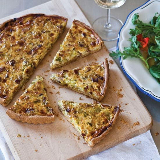 Leek quiche recipes easy