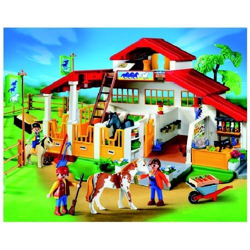 4190 playmobil 500 500 playroom to be for Playmobil pferde set