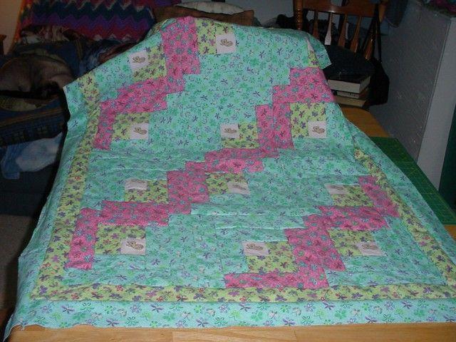 Josh's quilt top