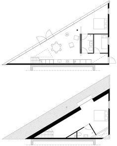 House in Almen - Barend Koolhaas - The Netherlands - Floor Plans - Humble Homes
