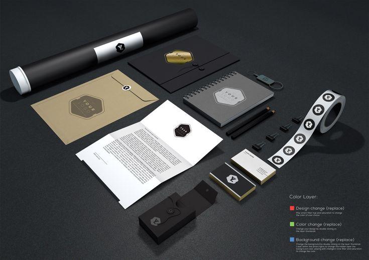 Branding / Identity MockUp Vol.11 | GraphicBurger