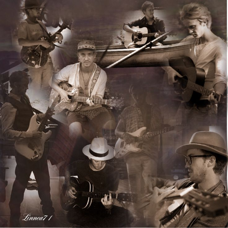 A tribute to Tom Felton and his guitar