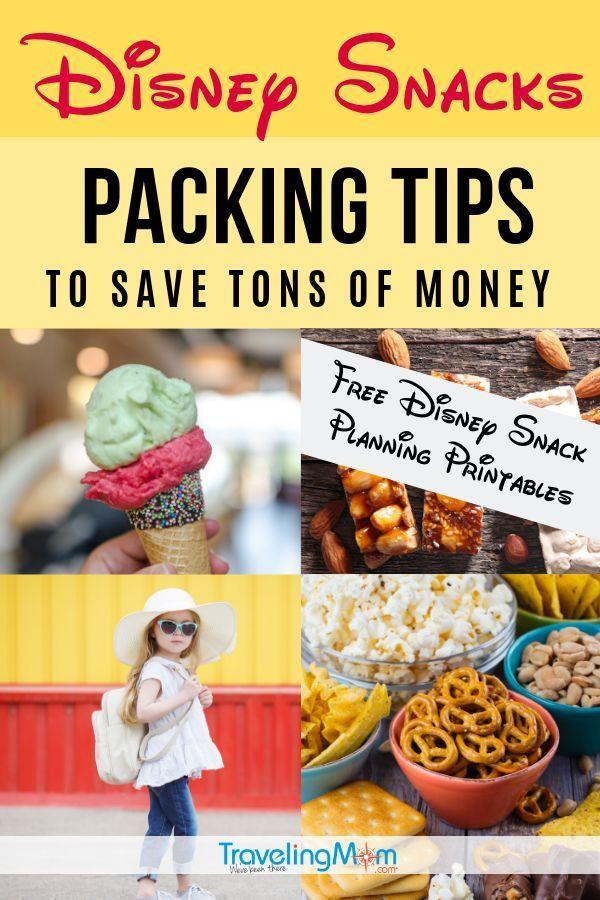 Save $50/Day with These Snacks to Pack for Disney