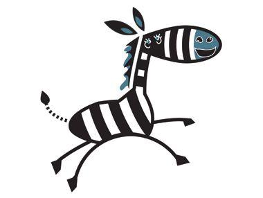 Funny lookin' Zebra