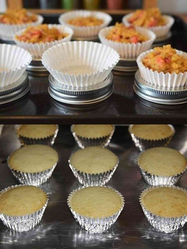 46 Life changing baking hacks, great tips that would totally make your baking super easy!   http://homemaderecipes.com/uncategorized/46-awesome-baking-hacks/