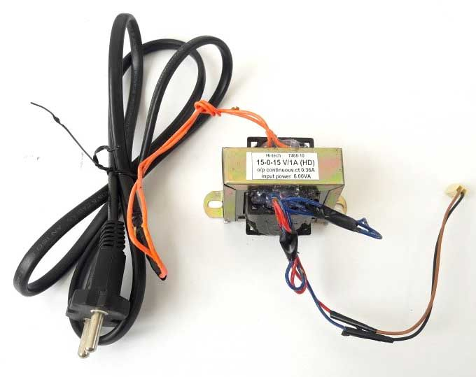 230v to 15v step down ac transformer
