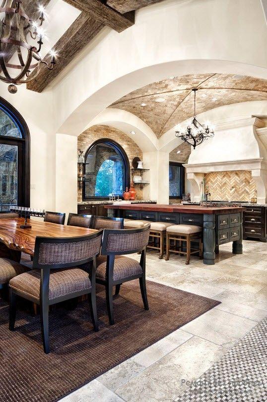Средиземноморский стиль в оформлении кухни