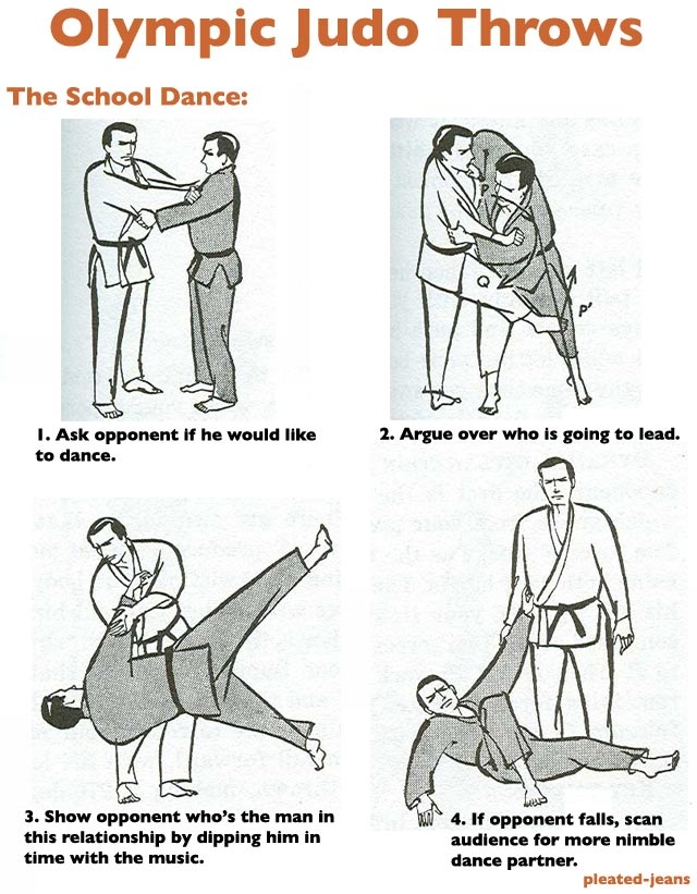 Dubsism is the only sports blog where you can learn Olympic Judo.