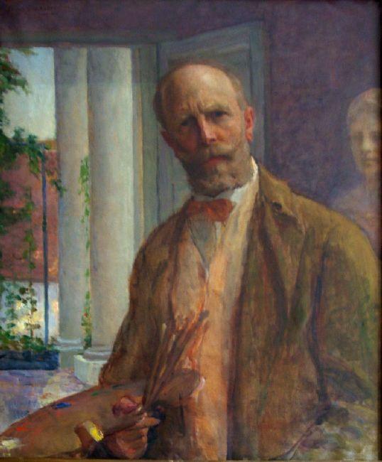 Self-portrait   Kunffy Lajos   Rippl - Rónai Megyei Hatókörű Városi Múzeum - Kaposvár   CC BY