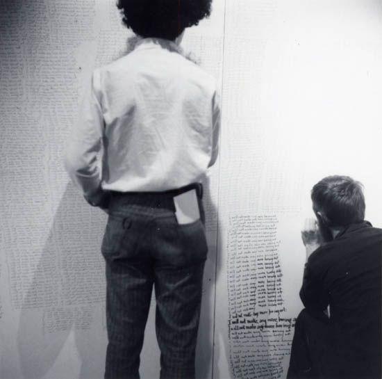 1971 I will not make anymore boring art