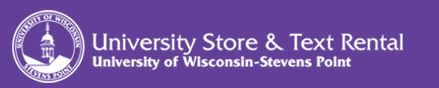 Official bookstore of the University of Wisconsin - Stevens Point