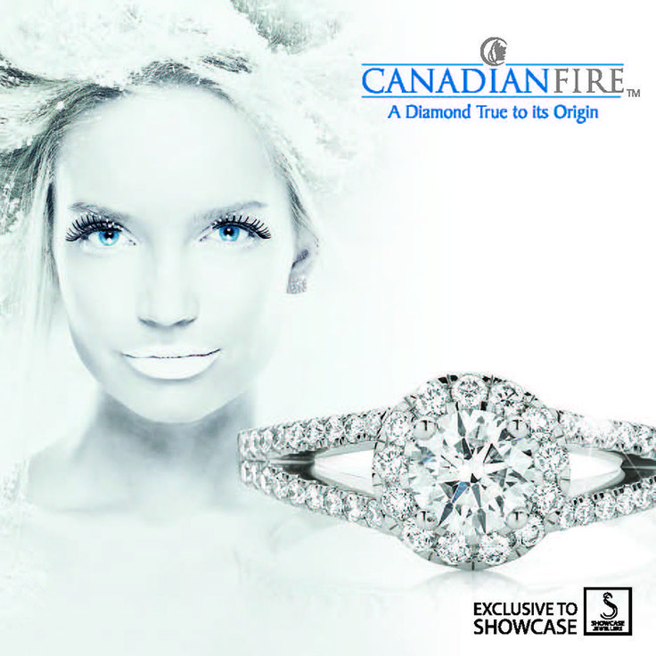 Canadian Fire Diamond Ring