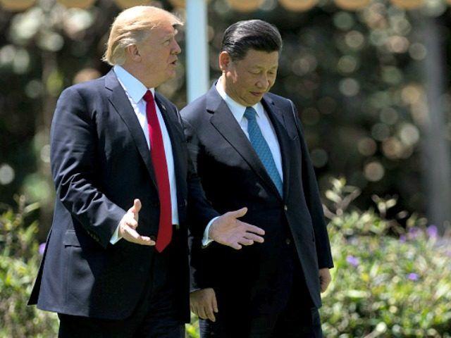 U.S. President Donald Trump and China President Xi Jinping