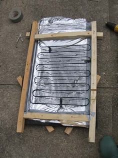 how to build a small solar water heater