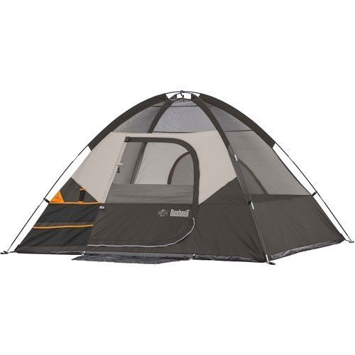Family Camping Tent Outdoors Fishing Picnic Canopy 4 People Man Dome Hiking Grey #FamilyCampingTent #Dome