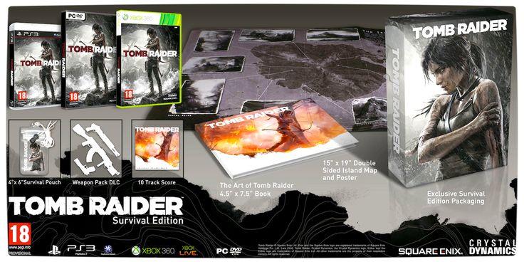 Vamers - Tomb Raider (2013) - Survival Edition Details