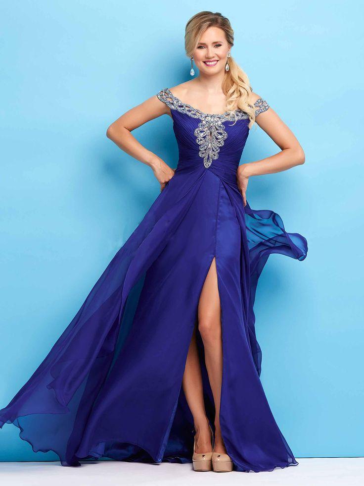 #bluedress #eveningdress / Suknia wieczorowa w kolorze głębokiego kobaltu