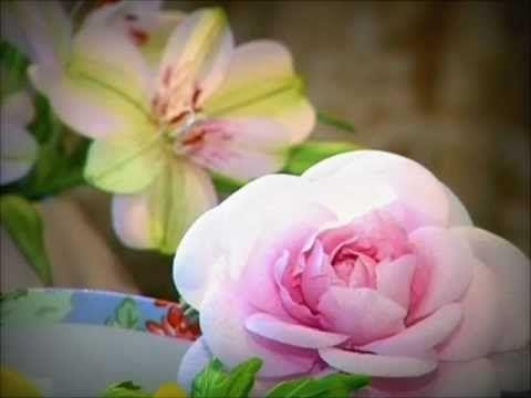 Цветы из шелка от Лилии Марченко Flowear.wmv