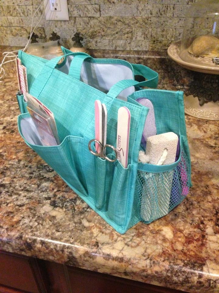Thirty-one Keep it caddy... Use it to store all your manicure and pedicure products!