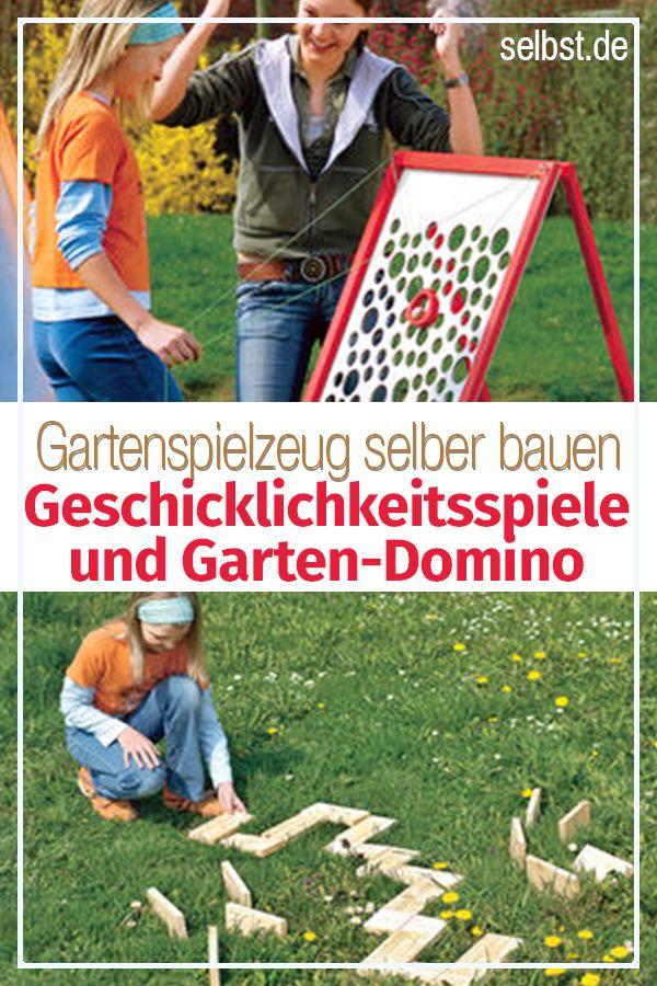 Gartenspielzeug Selber Bauen Selbst De Outdoorspiele Kinder Spielzeug Spiele Selber Basteln