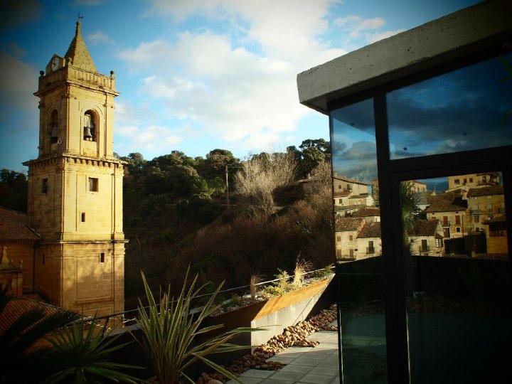 Views to the San Andres Church @Viura Hotel in #Rioja, #Spain #hotel