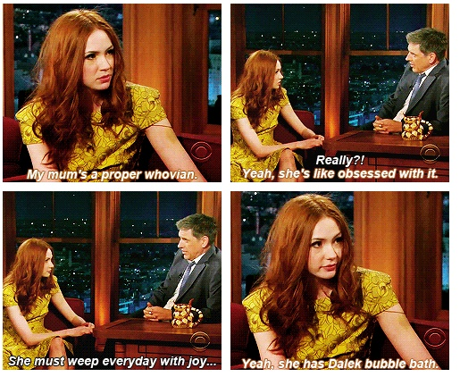 -Karen Gillan @Mandie Felker @Beth Viessman Dalek Bubble bath? We must find it!