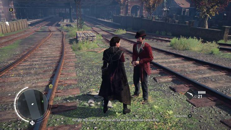 """Plattform: Playstation 4 Pro  Gespielt wird in Assassin's Creed Syndicate die Charles-Darwin-Erinnerungen """"Verleumdung""""."""