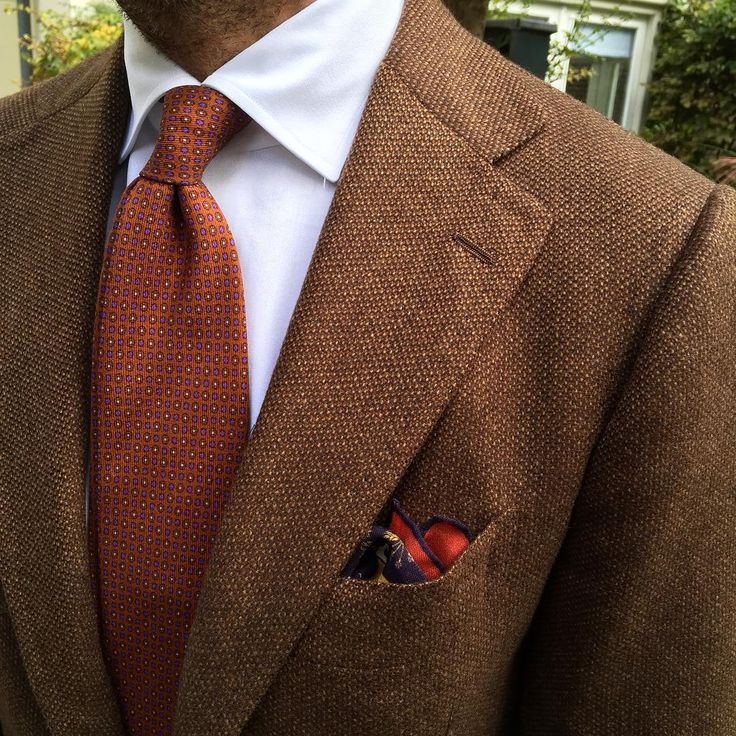 Viola Milano printed wool tie & handrolled wool/silk pocket square... Shop our favorites at www.violamilano.com  #violamilano #handmade #madeinitaly #luxury #timeless #elegance