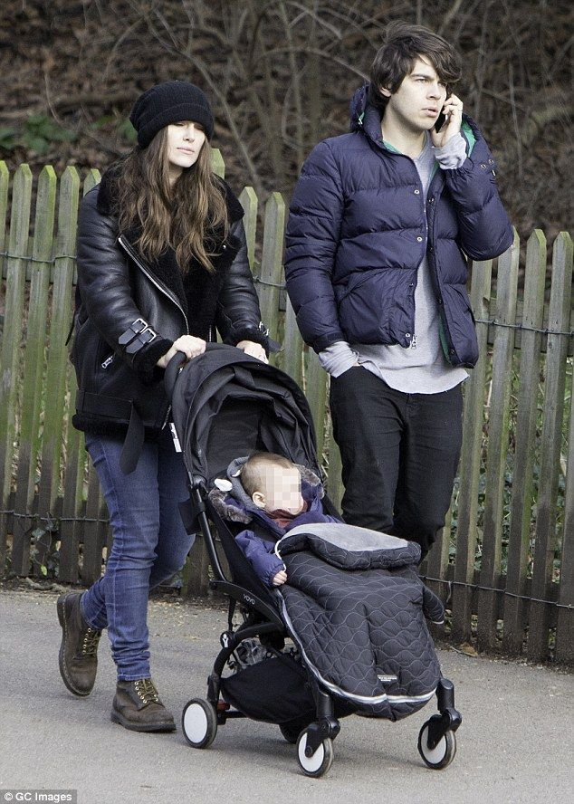 Keira Knightley and husband James Righton take baby daughter Edie for a stroll | Daily Mail Online
