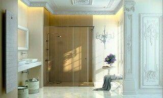 Paneles imitación madera para la reforma de tu ducha  #Clickdecormadrid #Rivas #Madrid  #CocinasSantosRivas