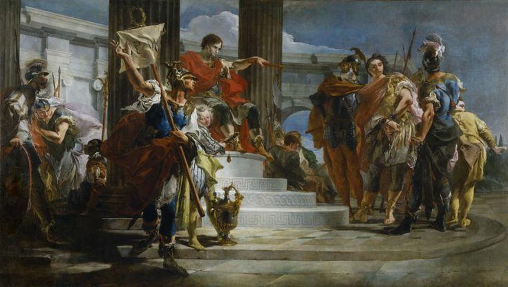Scipio Africanus Freeing Massiva.