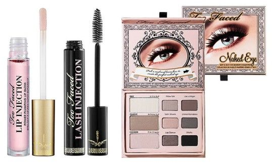 top 10 marcas de cosmeticos produtos de maquiagem glamourosa too faced