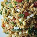 Corn and Spinach Quinoa Salad Recipe - Light Summer Dinner Recipes - Redbook