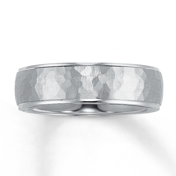 Wedding Band 14k White Gold 6mm Jared In 2020 Mens Wedding Bands Platinum 14k White Gold Wedding Band Platinum Wedding Band