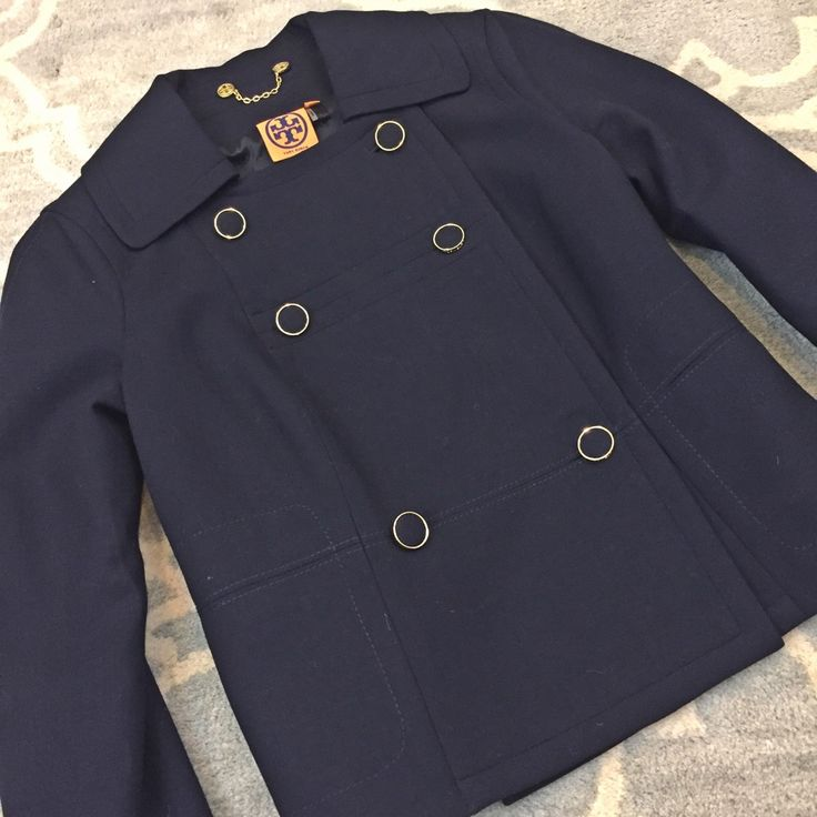 Nwot Tory Burch Double Breasted Blazer