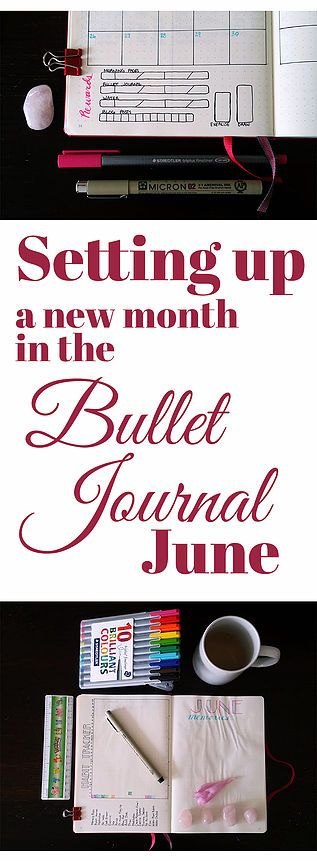See how I set up my June spread in my bullet journal! I go over my habit tracker, gratitude log, calendar, and more. Little Coffee Fox | Inspiration Through Organization