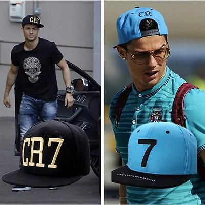 #Cristiano #ronaldo cr7 sports hip hop hat snapback cap real madrid *black #blue*,  View more on the LINK: http://www.zeppy.io/product/gb/2/182288392907/