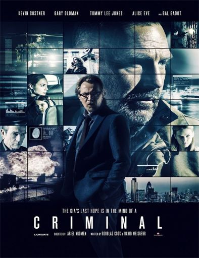 Poster de Criminal (Mente implacable)