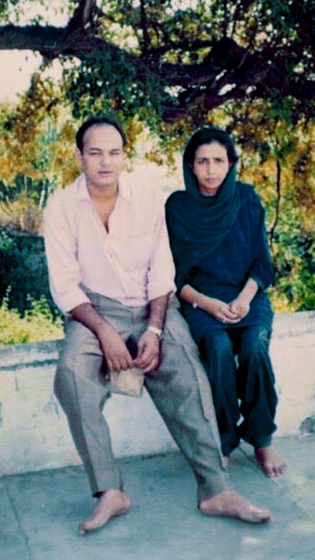Mukesh Kohli and Betty