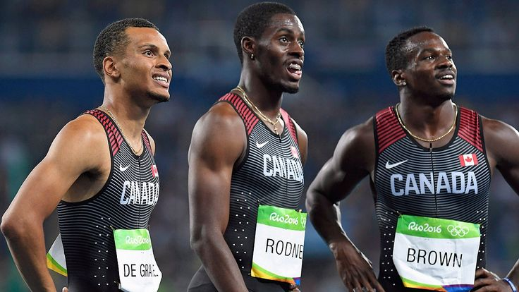 Canada's Brown, Rodney try to join De Grasse in Diamond League elite Relay teammates face off in 200 metres in Rome