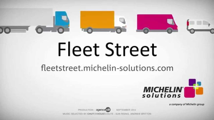 Teaser réalisé pour le lancement du site média de Michelin Solutions Fleet Street le 23 septembre 2014 lors du salon IAA à Hanovre.   Environmental taxes, fuel prices, changing vehicles, and regulations are just some of the issues that will be covered on Fleet Street, designed by Michelin solutions to be a site for haulage and transport professionals to share information and their experiences.