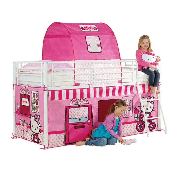 16 best chambre enfant hello kitty images on pinterest. Black Bedroom Furniture Sets. Home Design Ideas
