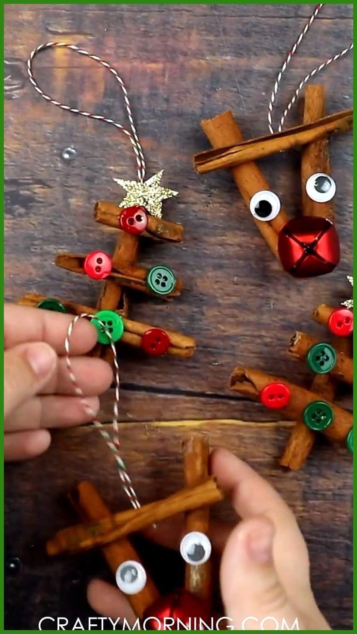 Zimtstange Ornamente Basteln Weihnachten Weihnachtszeit Basteln Geschenke