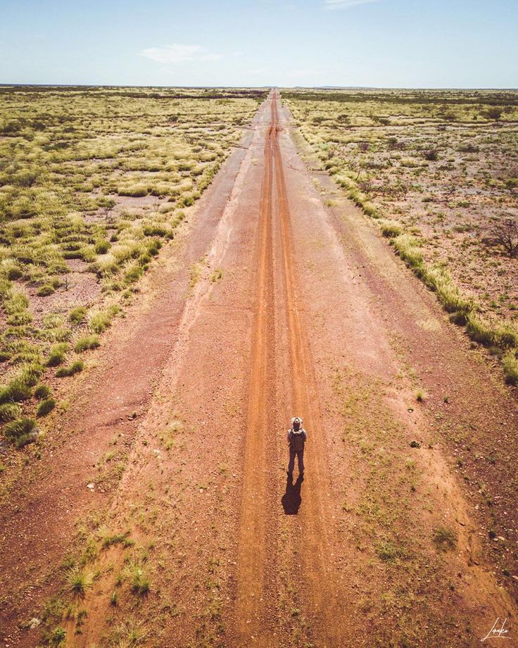 """A picture perfect outback road in Western Australia by @lerako on Instagram: """"The endless dirt roads of the Australian outback. One of my favourite place for wildlife and…"""""""