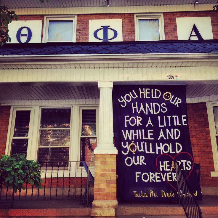 Theta Phi Alpha at the University of Dayton - dads...   sorority sugar