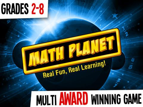 Math Planet – Fun and effective math game curriculum for kids in elementary, 2nd, 3rd, 4th, 5th grade, middle school and adults with free games for fractions, addition, subtraction, multiplication, division, math facts and number sense - Educational App