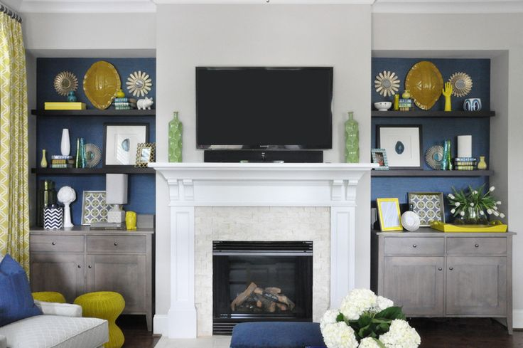 Use Two Console Tables On Each Side Of Your Fireplace To