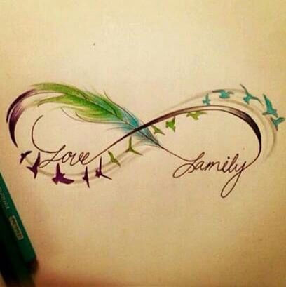 awesome tatto to commemorate the birth of my niece ! I will change family for her name... I'm excited about her arrival!!! ❤️